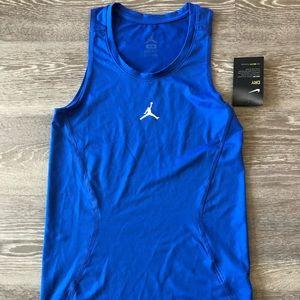 Air Jordan Dri Fit Tank (Blue) Sz XS